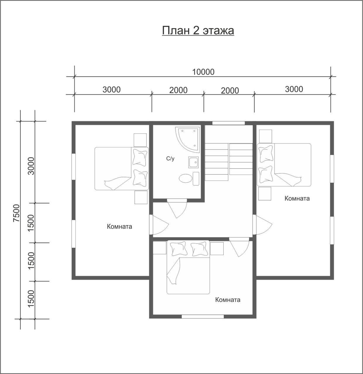 """Проект дома """"Виктория"""" - фото 6"""