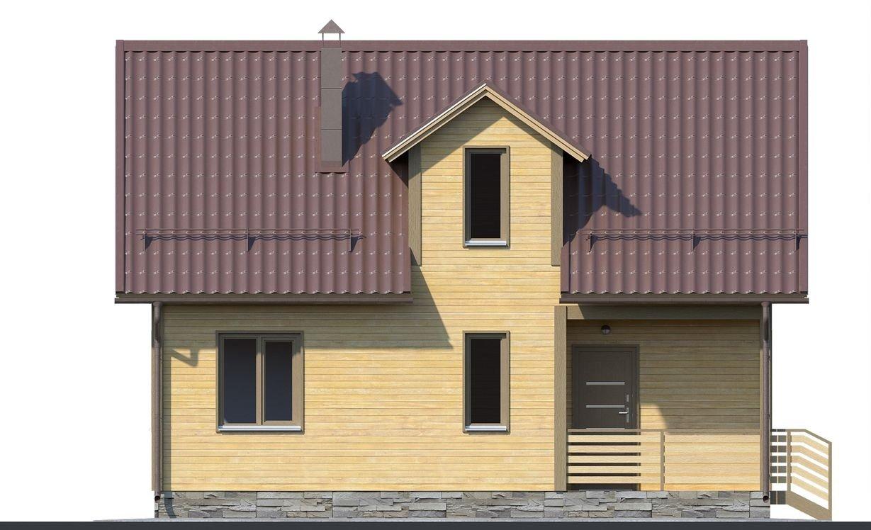"Проект дома ""Гранби"" - фото 5"