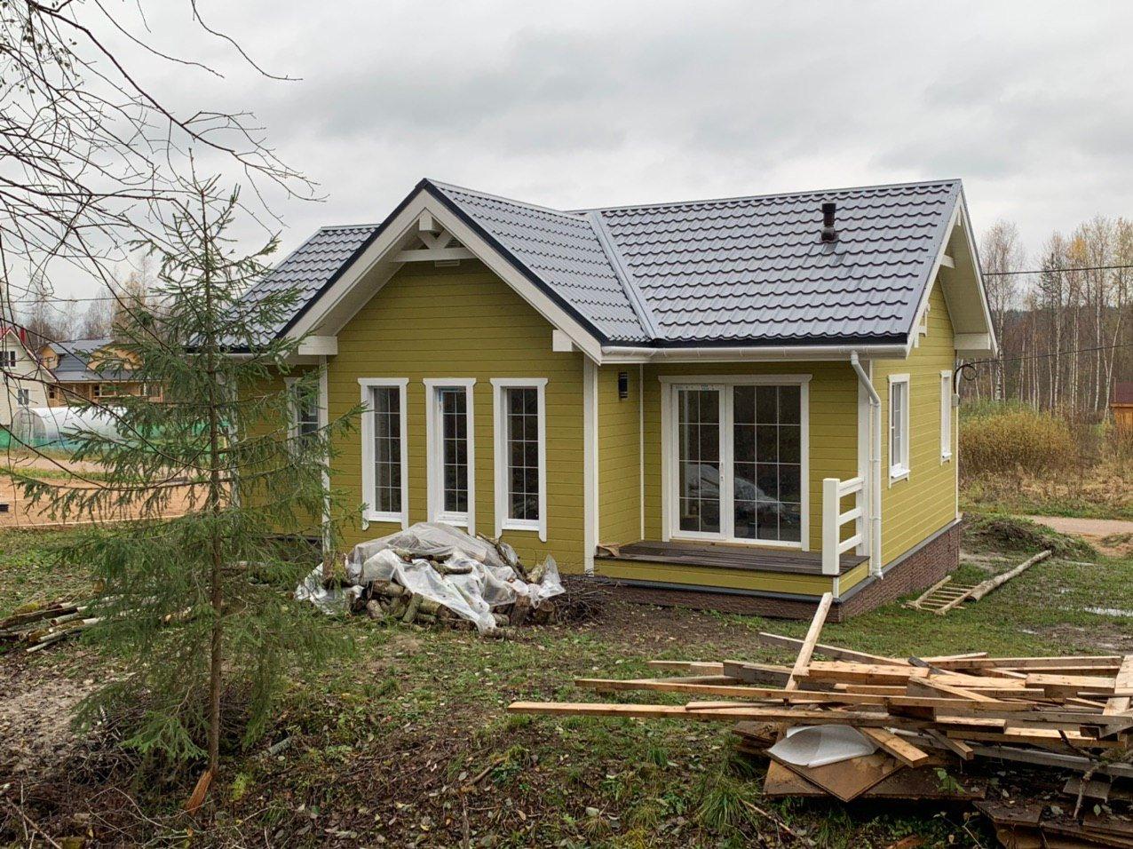 Дом Дэльфия Спб каркас Волочаевка - фото 2
